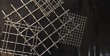 Wire Mesh Manufacturer in India, Welded Wedge Wire Exporter